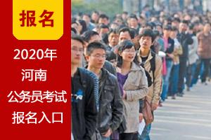 2020年河南省网上报名入口